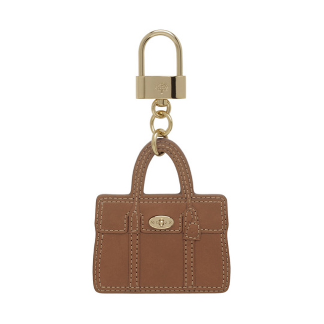 Mulberry Bayswater Bag Charm Oak Soft Saddle Shoulder