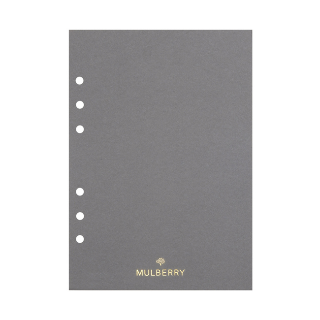 Mulberry Planner Plain Paper White Paper