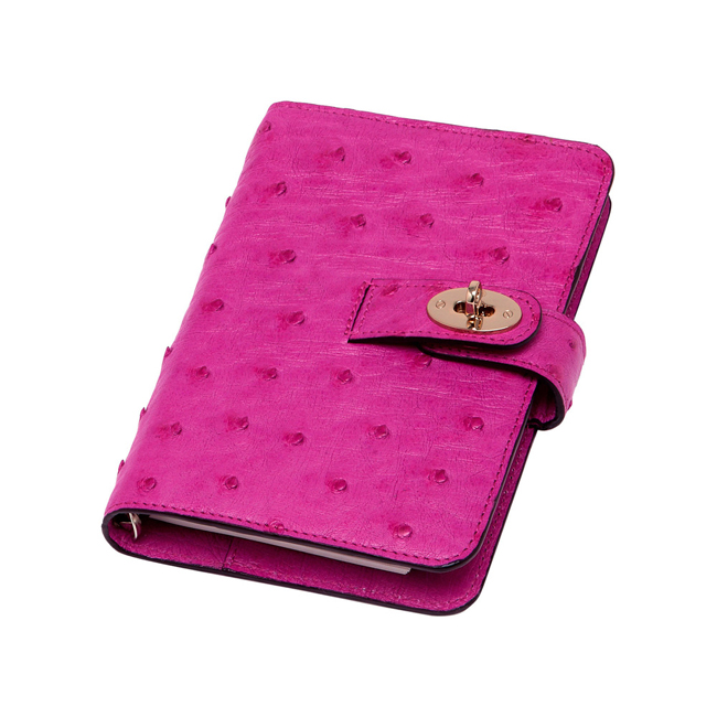 693bff58a9 Cheap Mulberry Postman Lock Pocket Book Pink Ostrich outlet sale