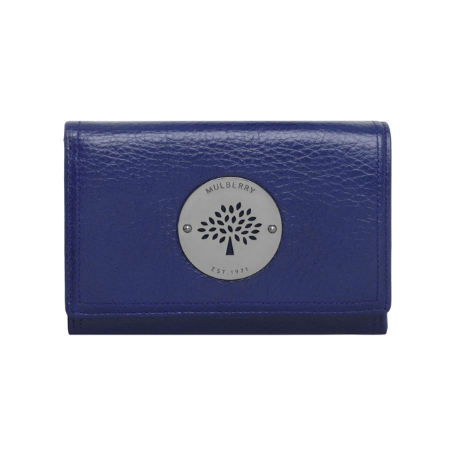 Mulberry Daria French Purse Cosmic Blue Soft Spongy