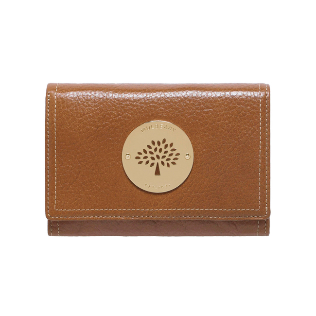 Mulberry Daria French Purse Oak Soft Spongy