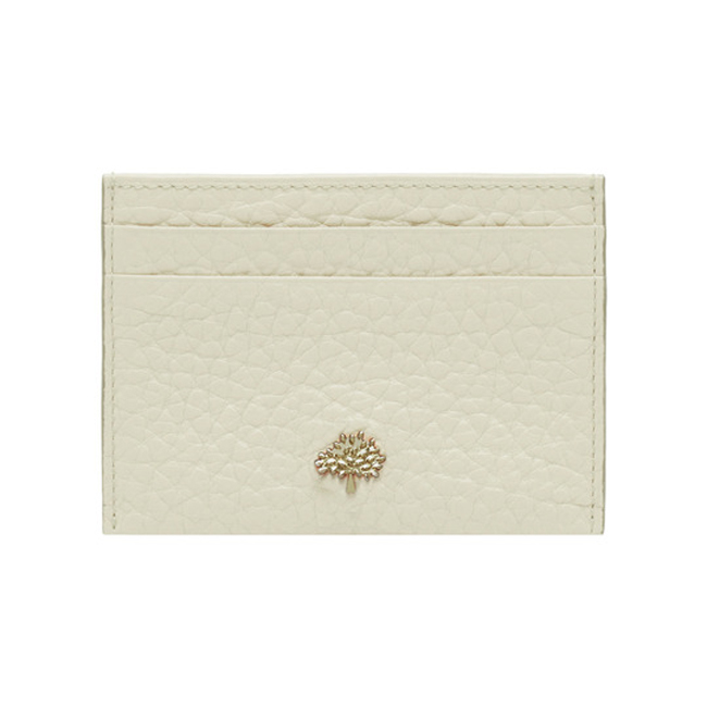 Mulberry Eliza Credit Card Slip Pear Sorbet Soft Large Grain