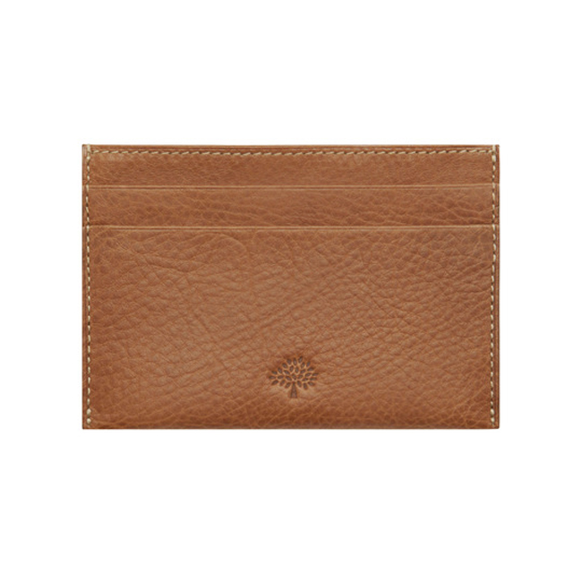 Mulberry Credit Card Slip Oak Natural Leather