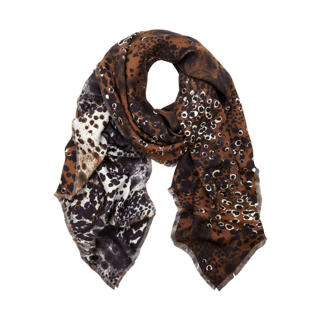 Mulberry Reversible Printed Wrap Oak Inky Animal