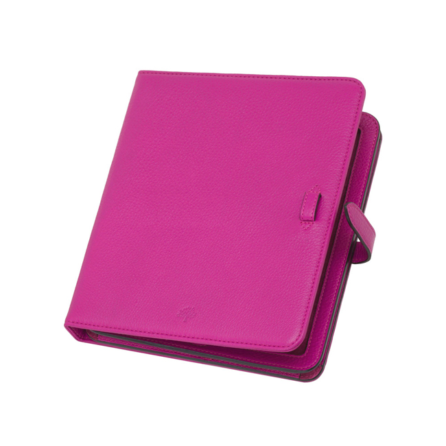 Mulberry Adjustable iPad Sleeve Pink Glossy Goat