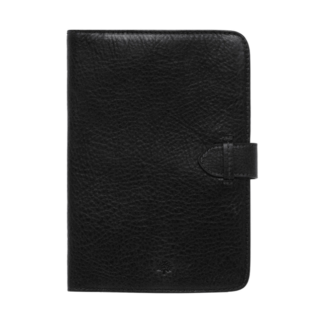 Mulberry Kindle Case Black Natural Leather