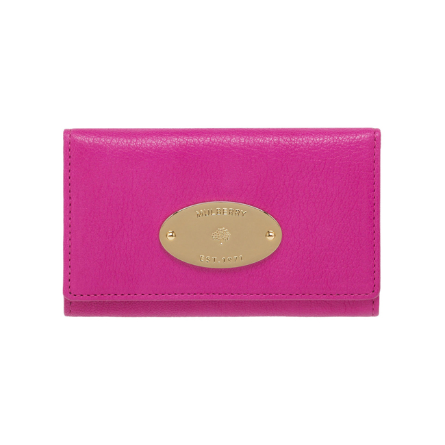 Mulberry Phone Case Pink Glossy Goat