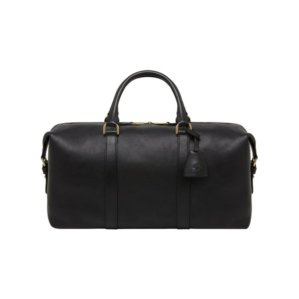Mulberry Small Clipper Black Natural Leather