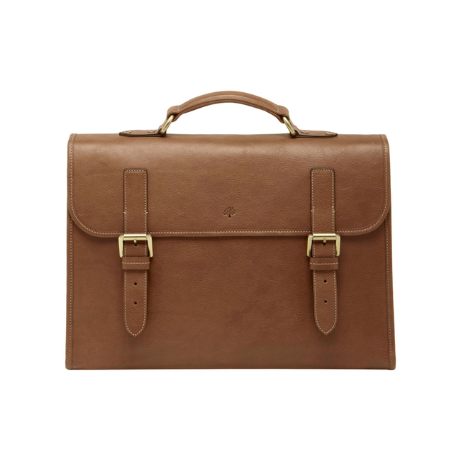 Mulberry Walter Oak Natural Leather