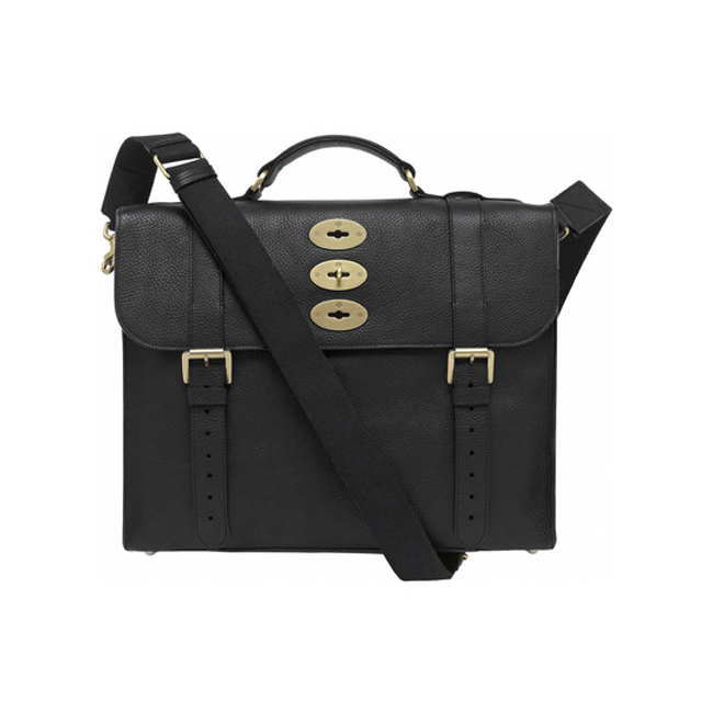 Mulberry Ted Black Natural Leather