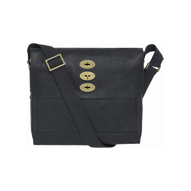 Mulberry Brynmore Black Natural Leather