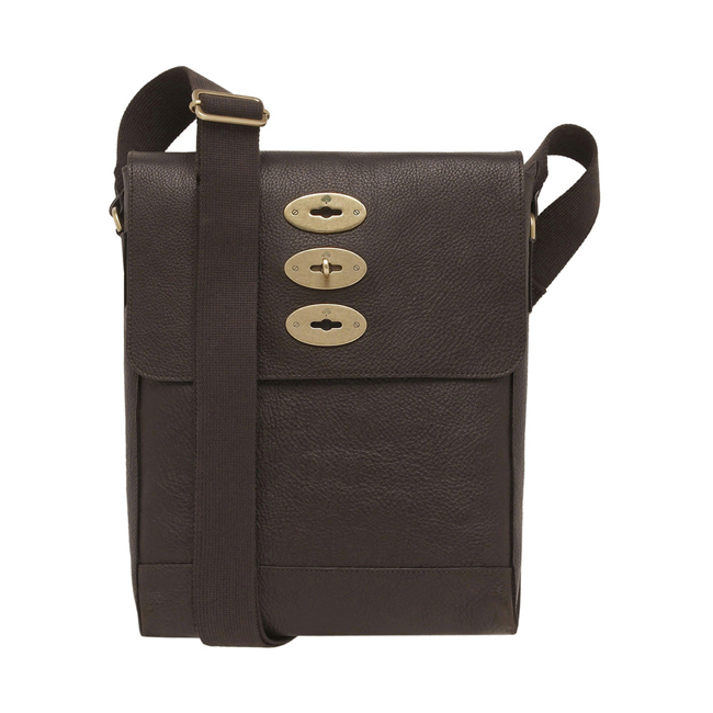 Mulberry Slim Brynmore Chocolate Natural Leather