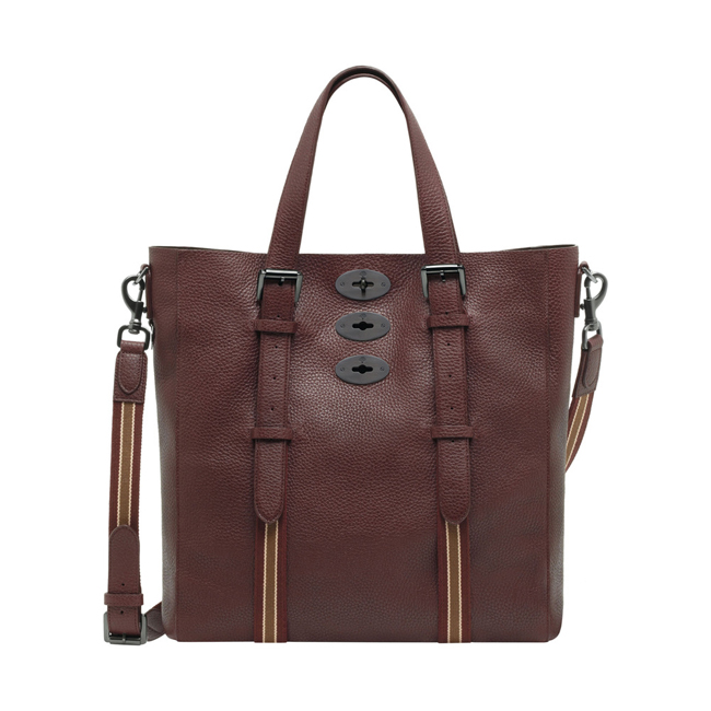 Mulberry Brynmore Tote Oxblood Soft Grain Leather