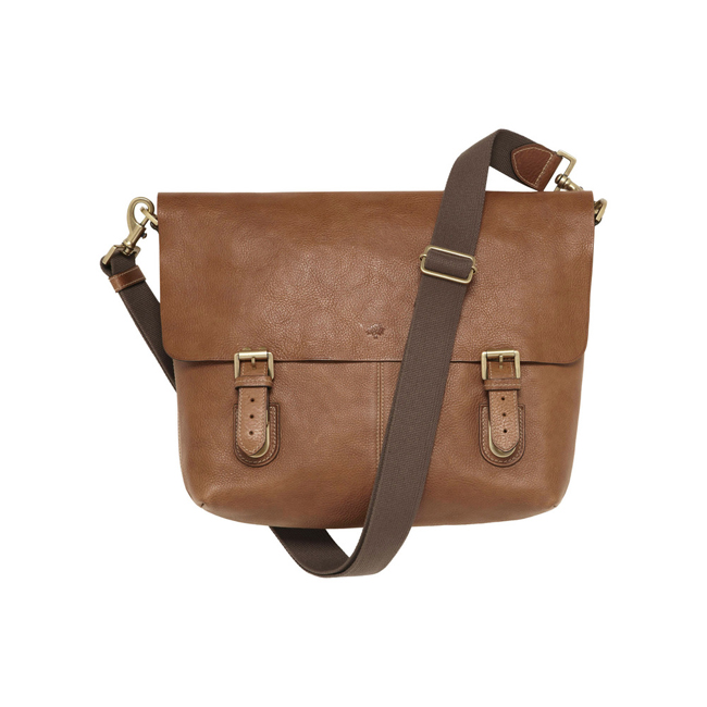 Mulberry Barnaby Oak Natural Leather