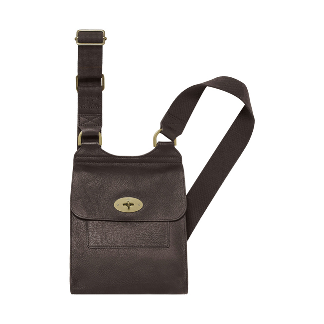 Mulberry Antony Chocolate Natural Leather