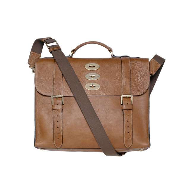 Mulberry Ted Oak Natural Leather