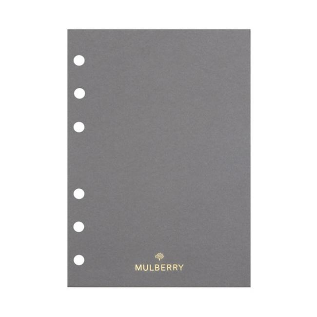 Mulberry Agenda Ruled Paper White Paper