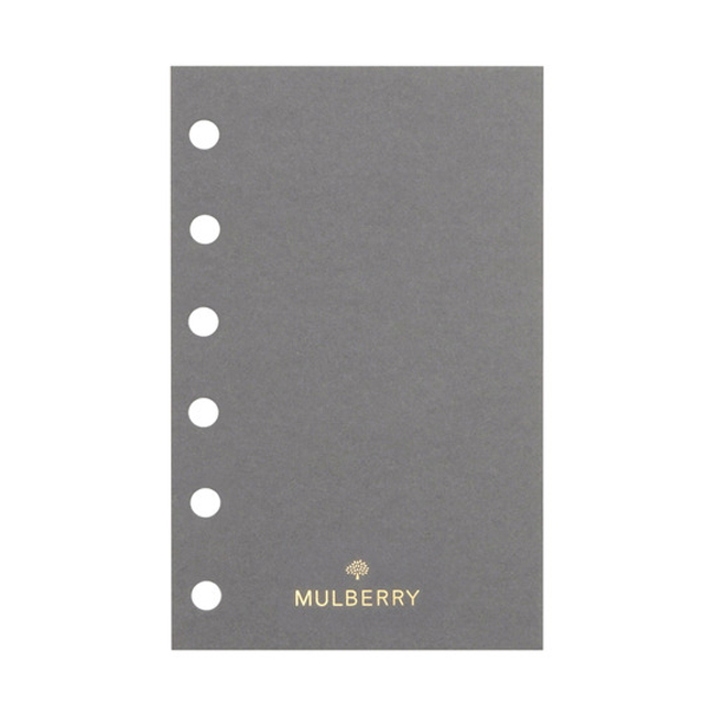 Mulberry Pocket Book Plain Paper White Paper