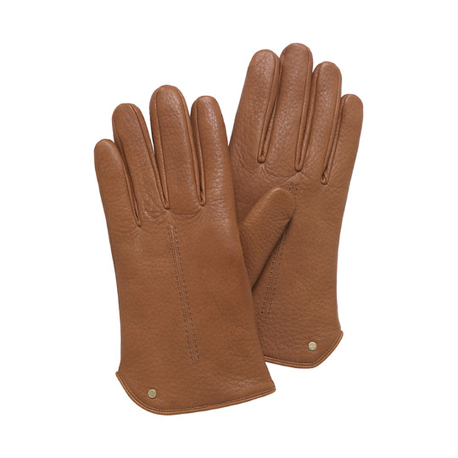 Mulberry Men Driving Glove Oak Deerskin