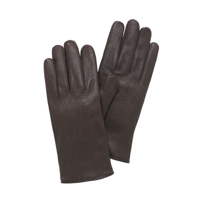 Mulberry Men Day Glove Walnut Deerskin