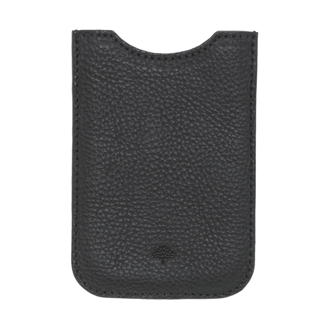 Mulberry iPhone Cover Black Natural Leather