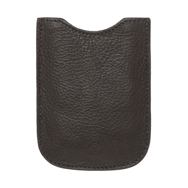 Mulberry Blackberry Cover Chocolate Natural Leather