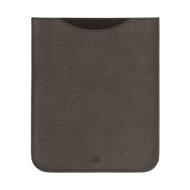 Mulberry Simple iPad Sleeve Chocolate Natural Leather
