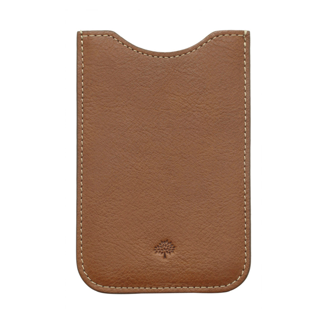 Mulberry iPhone Cover Oak Natural Leather