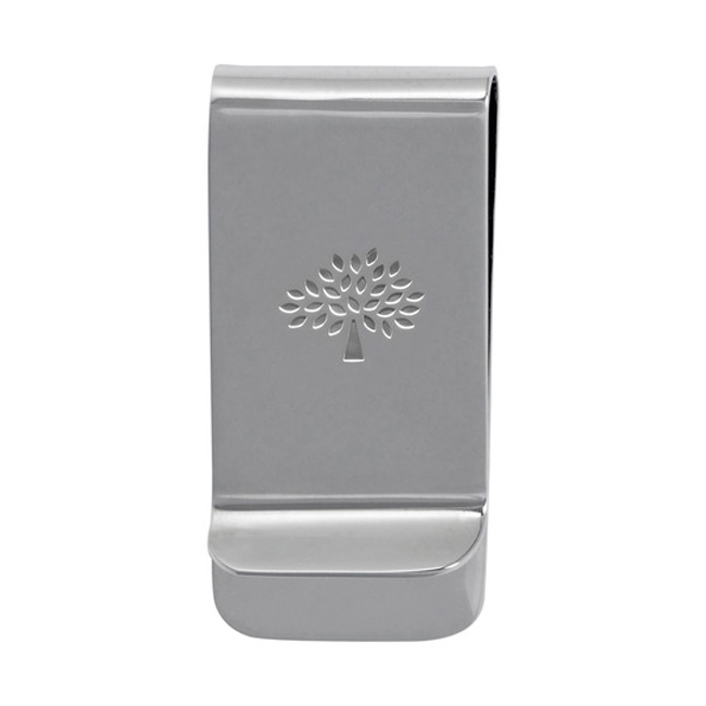Mulberry Laser Cut Money Clip Silver Plated