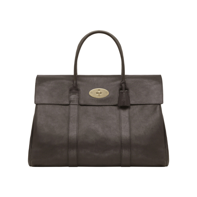 Mulberry Piccadilly Chocolate Natural Leather