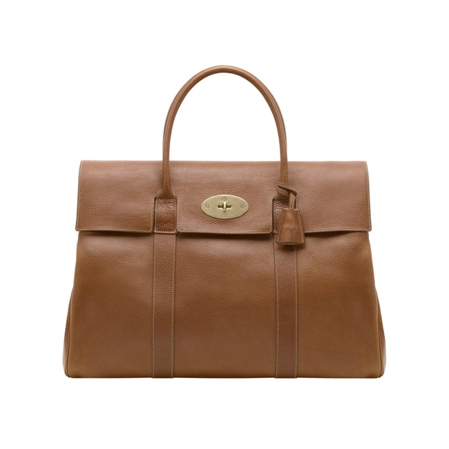 Mulberry Piccadilly Oak Natural Leather