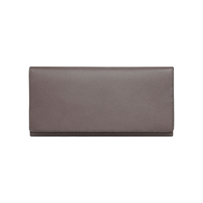 Mulberry Coat Wallet Grey Classic Printed Calf