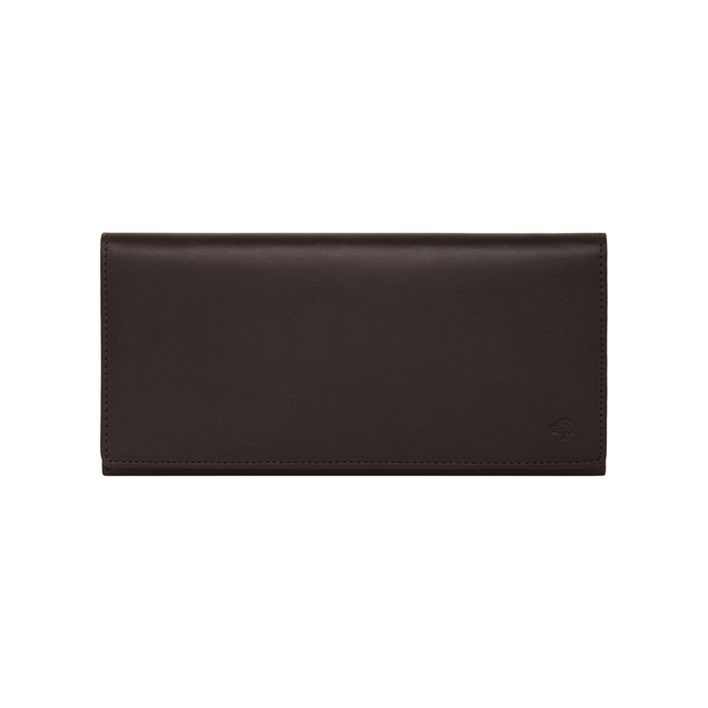 Mulberry Coat Wallet Chocolate Soft Saddle