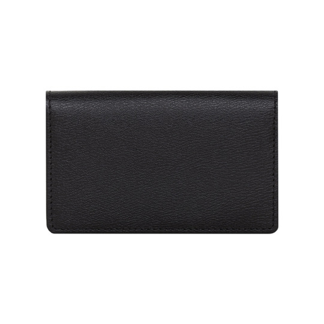 Mulberry Card Case Black Classic Printed Calf