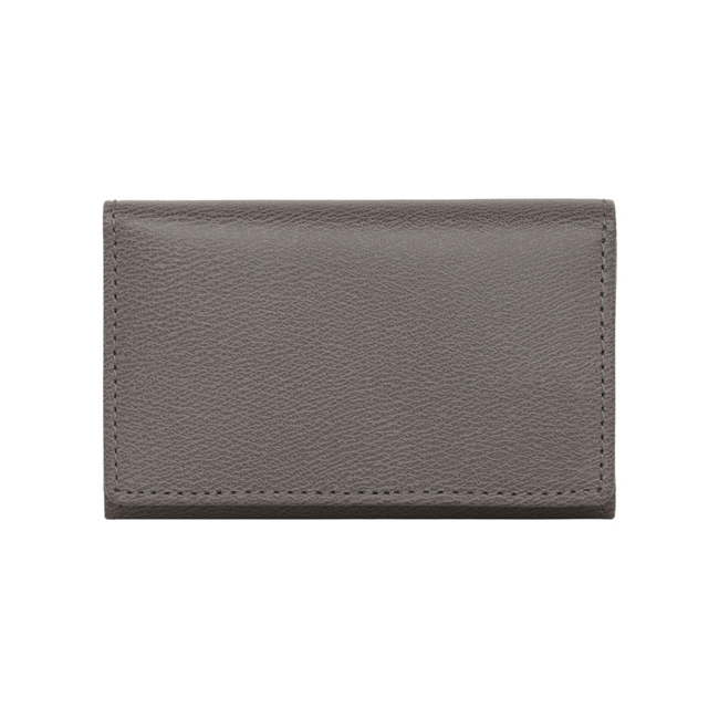 Mulberry Key Case Grey Classic Printed Calf