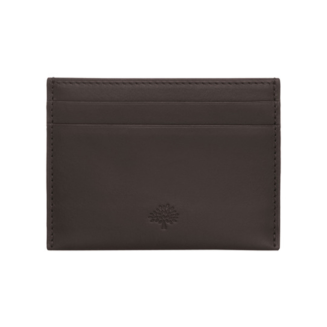 Mulberry Credit Card Slip Chocolate Soft Saddle