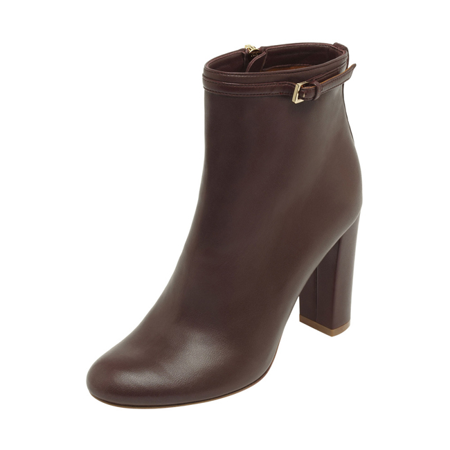 Mulberry Classic Bootie Oxblood Nappa Leather
