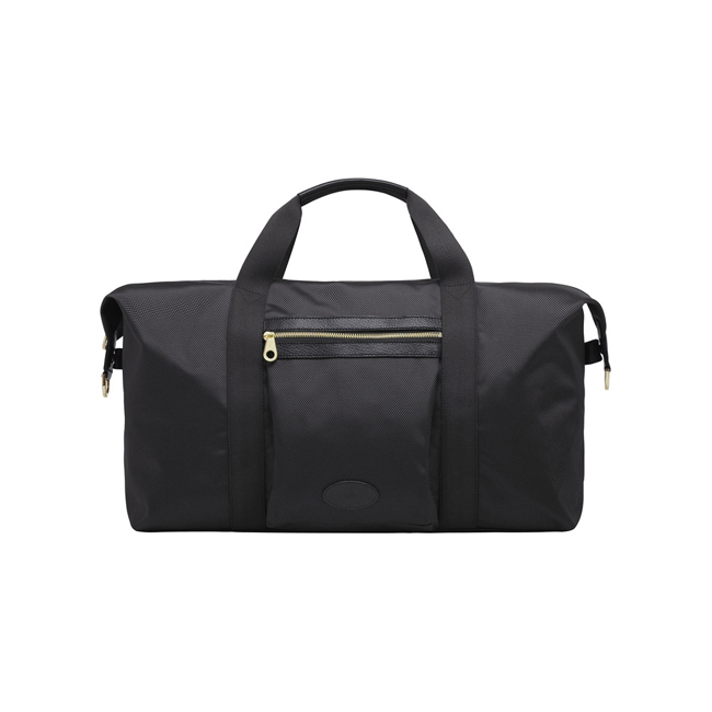 Mulberry Henry Gym Bag Black Textured Nylon