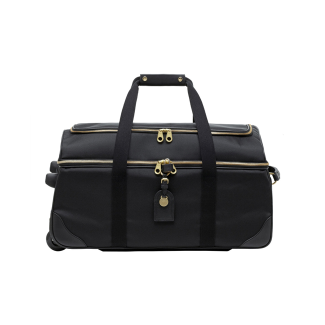Mulberry Henry Duffle Black Textured Nylon