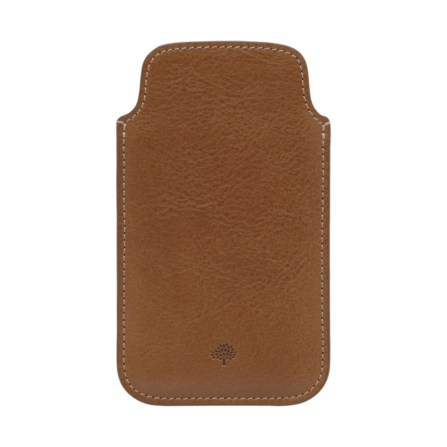 Mulberry iPhone 5 Cover Oak Natural Leather