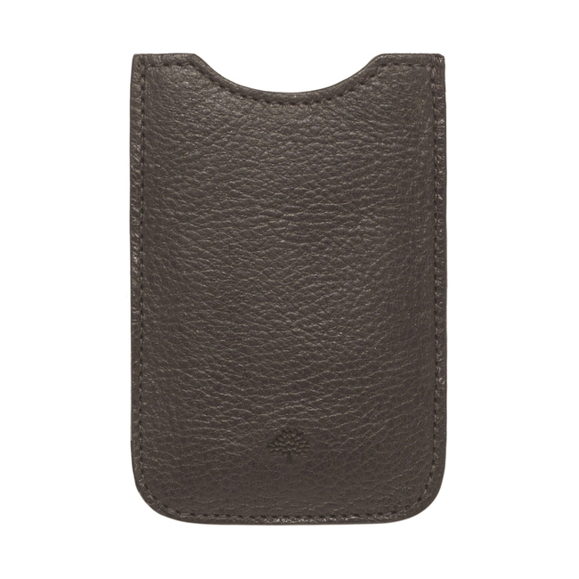 Mulberry iPhone Cover Chocolate Natural Leather