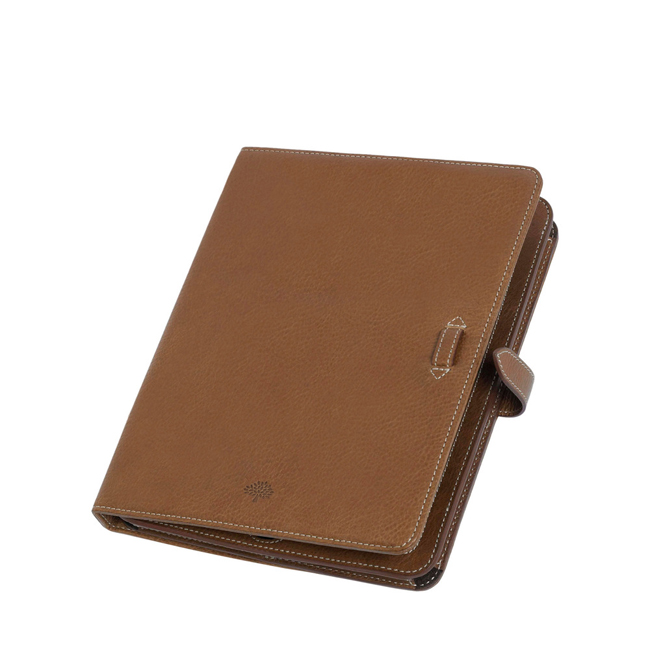 Mulberry Adjustable iPad Sleeve Oak Natural Leather