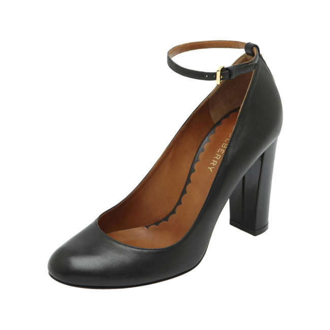 Mulberry Classic Pump Black Nappa Leather