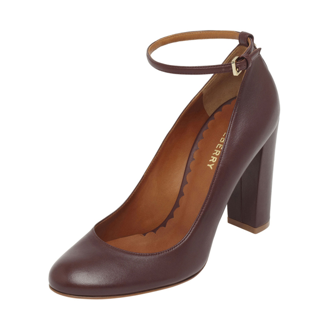 Mulberry Classic Pump Oxblood Nappa Leather