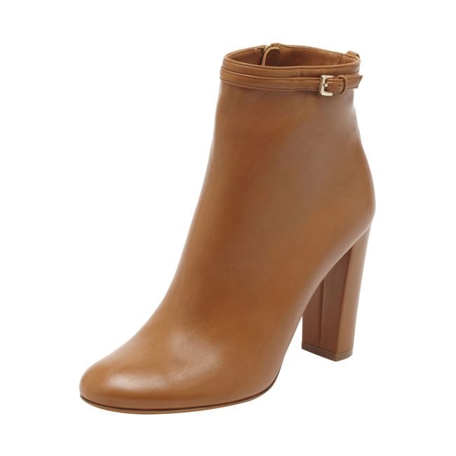 Mulberry Classic Bootie Ginger Nappa
