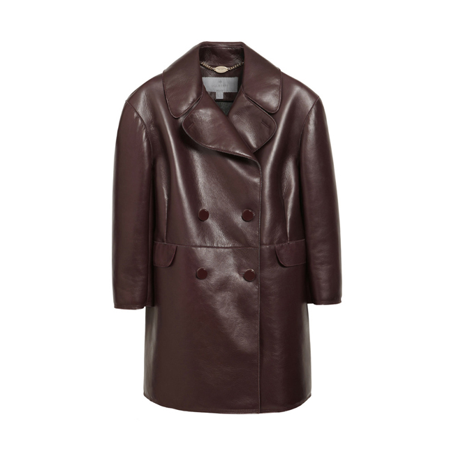 Mulberry Peacoat Oxblood Bonded Nappa Leather
