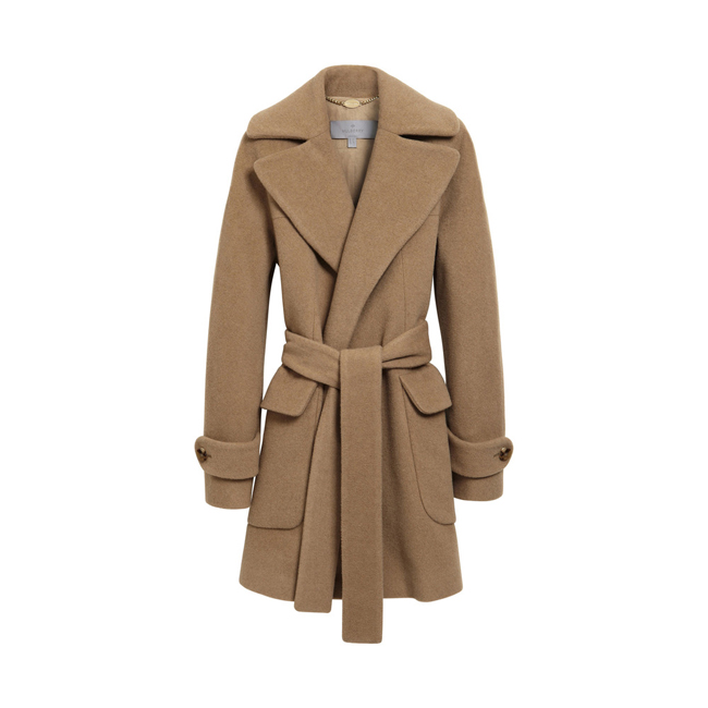 Mulberry Blanket Coat Camel Hair Wool