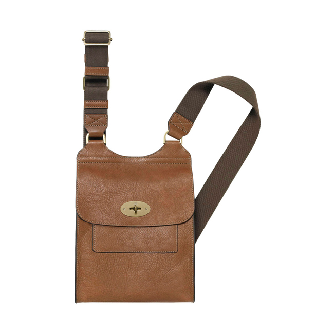 Mulberry Antony Oak Natural Leather