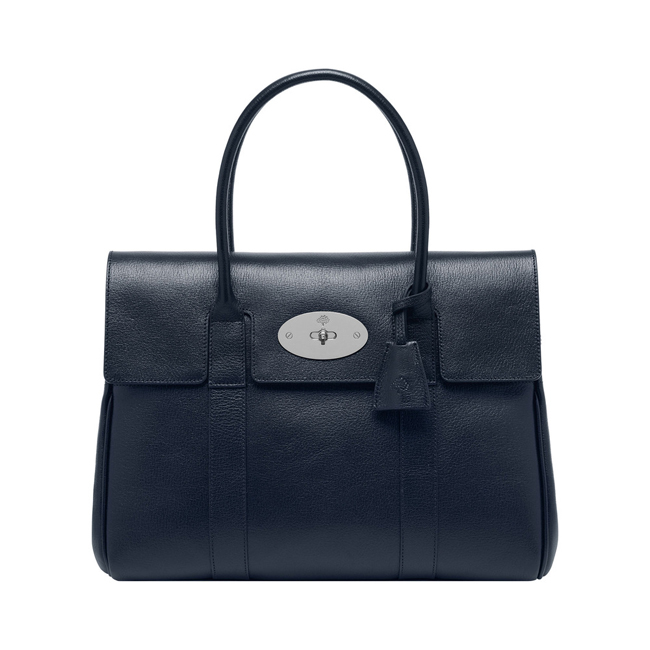 0f3c939c83c5 Cheap Mulberry Bayswater Midnight Blue Shiny Goat online store