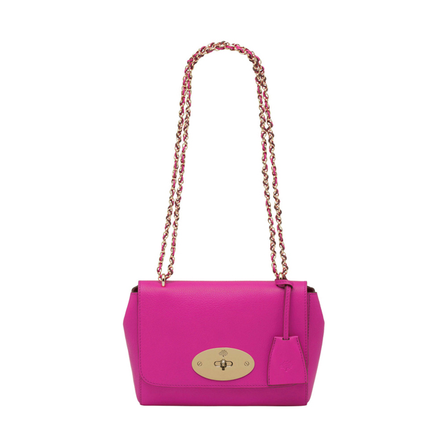 Mulberry Lily Pink Glossy Goat